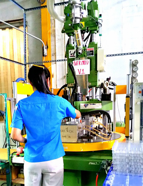 Vertical Injection Machines