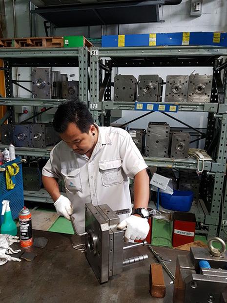 Mold Maintenance Shop